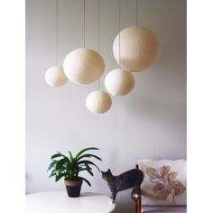 Lampshades, Lamp Design, Decoration, Creations, Wool Felting, Lighting, Chandeliers, Interior, Baby