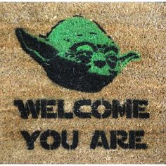 I'd laugh every time I came home if I had this welcome mat