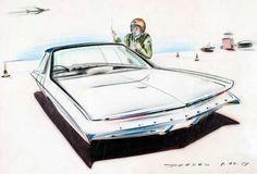GM Designer Paul Deesen, the Pontiac Strato Star, and Sebring 1957 | Dean's Garage