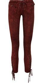 Isabel MarantEden stretch-suede skinny pants