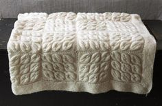Great #knit afghan to gift to the newly wedded