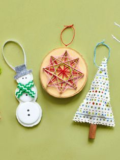 25 Easy, Homemade Christmas Ornaments