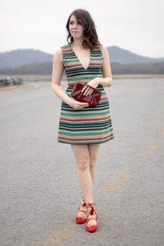 Little Striped Dress | Greta Hollar