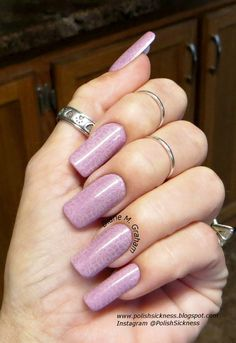 Sinful Colors Rose Dust, Sinful Colors Beaches and Cream, FUN 13 stamp Beautiful Nail Designs, Beautiful Nail Art, Sinful Colors, Nail Colors, Hot Nails, Hair And Nails, Pretty Nails, Nice Nails, Nail Polish Art