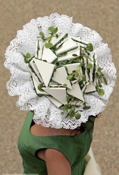 Sandwich on Doily Cap