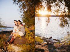 Lake Wallenpaupack engagement  Photographer: Lara Kimmerer
