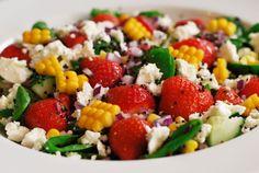 ...   Mexican bean salad, Mixed green salads and Three bean salad