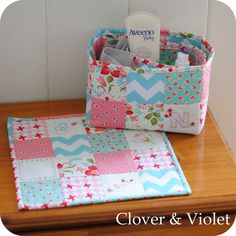 Sew Lux Fabric and Gifts Blog: Design Challenge :: Bedside Trio