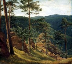 Harz Mountains, Germany.  From Goethe's 'Faust.'  Booked every Walpurgis Night.