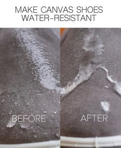 Protect Shoes From Moisture With This Smart Water-Resistant Hack Do It Yourself Projects, Projects To Try, House Cleaning Services, Cleaners Homemade, Clothing Hacks, Nifty, Just In Case, Helpful Hints, Diy And Crafts