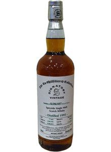 Glenlivet 17 Year Old Single Malt #Scotch Whisky (Signatory Bottling).  Only 757 bottles of this single malt, which was aged for over 17 years in sherry casks, have ever been produced.   @Caskers