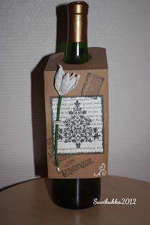 A bottle card