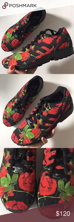 huge discount fffe6 2a33b ADIDAS Torsion ZX Flux BlackRed Rose Sneakers New without box Very  comfortable and stylish These fit true to size adidas Shoes Sneakers