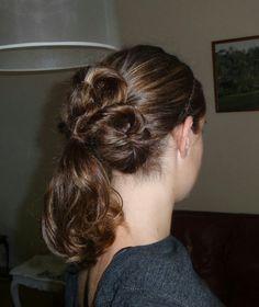 Four clover #ponytail