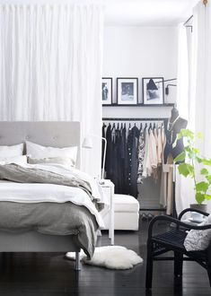 Design Dilemma: No Closet, No Problem