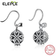 >> Click to Buy << Support Private Customized 925 sterling silver jewelry wholesale earrings heart&Arrow Heart-shaped earring LPSVE011 #Affiliate