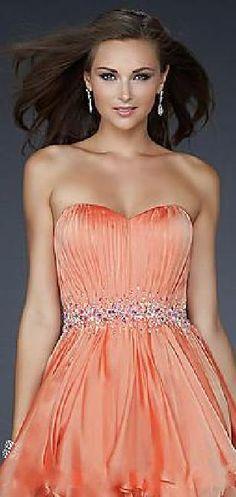 Elegant Natural Short Sweetheart Lavender Chiffon Evening Dresses In Stock tkzdresses49878xdf #longdress #promdress