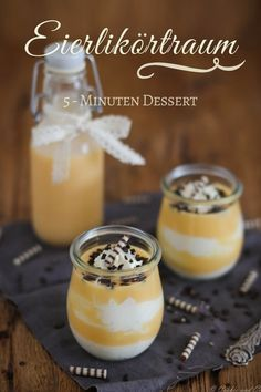 Eggnog room: creamy lightning dessert - Food and Drink Trifle Desserts, Dessert Dishes, Cookie Desserts, Cookie Recipes, Fruit Dessert, Quick Dessert Recipes, Easy Cake Recipes, Easy Desserts, Appetizer Recipes