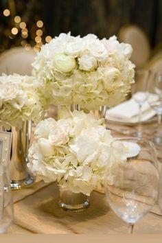 white wedding flower arrangements rehearsal dinner centerpiecesrehearsal dinnerswedding table
