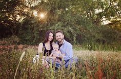 Family Photos - Simone Diaries - Family of Three - Husband Wife Baby - Outdoor Photos