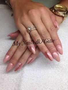 CND Brisa Gel Nails. CND Shellac /additiv ❤️ nailart, nail design. Smukke negle, forlængelse og klar til sommer
