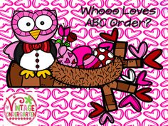 Working on missing letters and alphabet order?  Your kids will hoot over this owl themed center. Included:upper and lowercase letterscolor and black and white versionspractice with missing letters in multiple positionsblanks to make your own