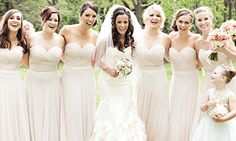 #bride and her #bridesmaids so #lovely