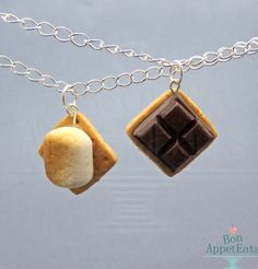 S'mores necklaces from BonAppetEats