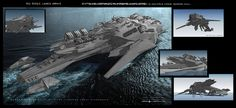Aliens Sink Your 'Battleship' In Never Before Seen Concept Art By George Hull « Film Sketchr Alien Concept Art, Concept Art World, Concept Ships, Concept Cars, Alien Ship, Starship Concept, Spaceship Design, Sci Fi Ships, Futuristic Art