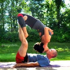 couple yoga poses | Don't get me wrong, I would never condone practicing yoga strictly ...