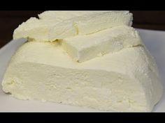 Τυροκομικά - YouTube Farmers Cheese, Cheese Recipes, Feta, Recipies, Dairy, Youtube, Russian Cuisine, Sandwich Spread, Essen