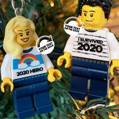 Your KEYworker of the year award, or your reminder of making it through the craziest year in our lifetime? Two personalised 2020 keyrings to choose from. Your own text on the back and your choice of LEGO parts. The perfect 2020 gift. . . . Personalise your limited edition 2020 keyrings here: Lego Parts, Make It Through, Gifts For Friends, Survival, Hero, This Or That Questions, Christmas Ornaments, Holiday Decor, Mini