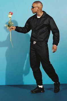 Skepta talks black tie trackies as he launches fashion collection Nike Tn, Fashion Artwork, Snow Fashion, Fashion Gallery, Photoshoot Inspiration, Urban Fashion, Fashion Photography, Menswear, Music Posters