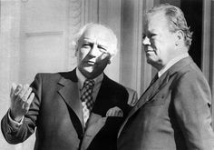 As foreign minister and deputy chancellor under Willy Brandt, Mr. Scheel…
