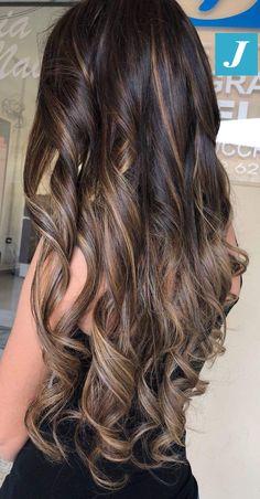 Your Degradé Joelle! #cdj #degradejoelle #tagliopuntearia #degradé #igers #musthave #hair #hairstyle #haircolour #longhair #ootd #hairfashion #madeinitaly #wellastudionyc Brown Blonde Hair, Balayage Hair Blonde, Loose Hairstyles, Straight Hairstyles, Big Curls For Long Hair, Long Indian Hair, Joelle, Loose Waves Hair, Natural Hair Styles