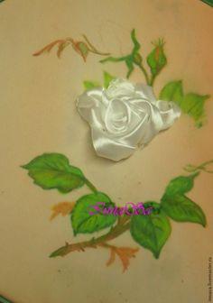 DIY Beautiful Embroidery Satin Ribbon Roses | iCreativeIdeas.com Follow Us on Facebook --> https://www.facebook.com/iCreativeIdeas