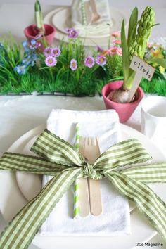 garden tablescape #Olio-Inspiration #Tablescapes
