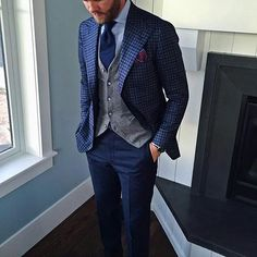 My Dapper Self — @jason_yeats shows us how to rock the cardigan...