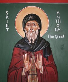 Anthony the Great, Keswick - Aidan Hart Sacred Icons