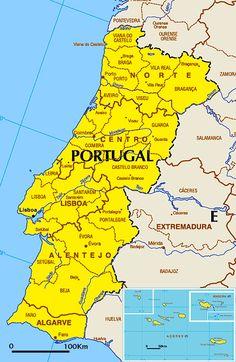 Mapa de Portugal                                                                                                                                                                                 Mais