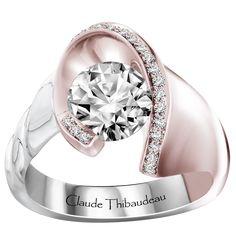 bagues de fianailles anneaux de mariage diamants bijoux avant garde partager garde engagement 3 wedding my precious forefront