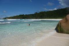 Anse Coco Beach, La Digue Island