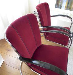 Gispen #412 #fauteuil is van alle klassiekers veruit het meest bekende ontwerp van Willem Hendrik Gispen