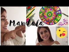 Dibujo de Mandala - Zentangle - Mayra Alejandra - YouTube