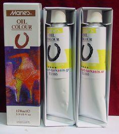 Λαδόχρωμα ζωγραφικής Lemon Yelow N.215 Maries Oil