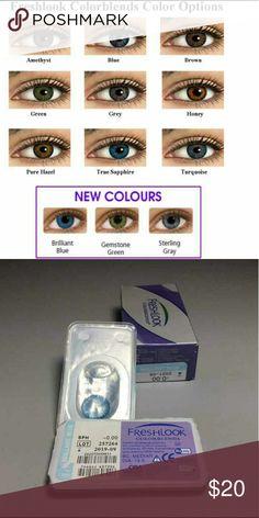 true sapphire non prescription colored contacts freshlook