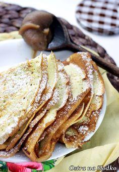nalesniki z bananami , nalesniki z czekolada , nalesniki na slodko , ostra na slodko , latwe przepisy (1) Pancakes, Crepe Cake, Mille Crepe, Dutch, French Toast, Breakfast, Ethnic Recipes, Baby, Food
