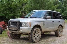 """My Range Rover with a 2"""" Lift and 33"""" All Terrain Tires Johnson Rods 305/55/20"""