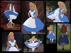 In my continuing saga to try to get this blog caught up to my present day project, let's talk about my Alice in Wonderland costume! The final costume: My Alice Reference, screen capped from t…
