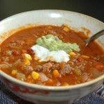 Mexican Hamburger Soup